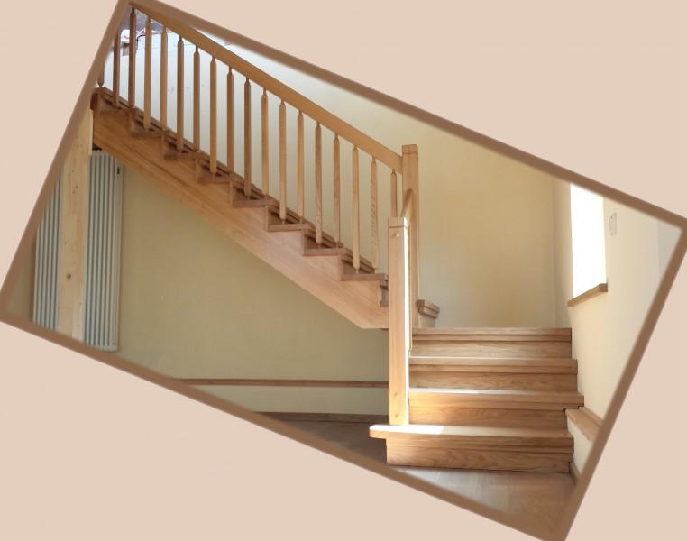 eichentreppe einviertel gewendelt massivholztreppe. Black Bedroom Furniture Sets. Home Design Ideas